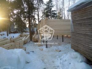 Расчет свайного фундамента дом Подольский район
