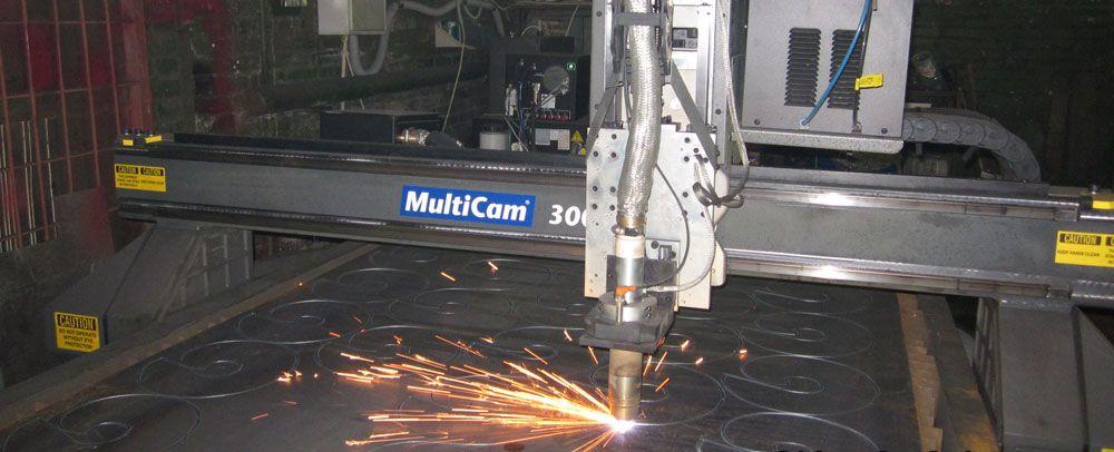 Лопасти винтовых свай мы изготавливаем на профессиональном станке плазменной резки, что обеспечивает высокое качество